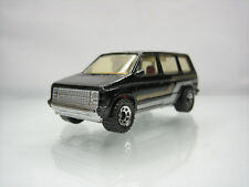 Diecast Matchbox Dodge Caravan 1984 Black Good Condition