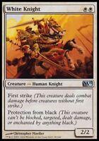 MTG Magic : Playset (4x) White Knight (Chevalier blanc) Magic 2011 VO