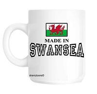 Made Born In Swansea Birthday Gift Mug shan452
