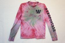Aeropostale Long Sleeve T-Shirt, Tie Dye, Men's XS 06575