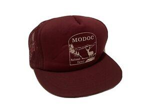 RARE-Vintage Modoc National Forest Hat