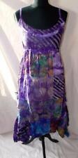 Gringo Fair Trade Patchwork Dress Hippy Boho Festival Hippie Summer Size S/M