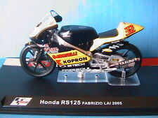 MOTO GP BIKE HONDA RS125 #32 FABRIZIO LAI 2005 1/24 RS 125 GABRIELLI KOPRON