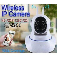 720P CCTV IP Camera 2 Way Audio Wireless Network Internet Wifi Night Version
