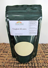50 grams Tongkat Ali 200:1 Root Extract Powder (Pasak bumi) Longjack - Gold