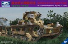 RIICH MODELS 1/35 Vickers 6-ton Carro armato leggero (alt B Comandante