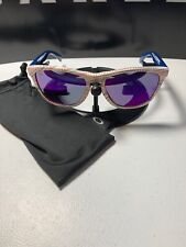 OAKLEY FROGSKINS White Team USA Kinetist Sunglasses MINT Red Iridium OO9013-85