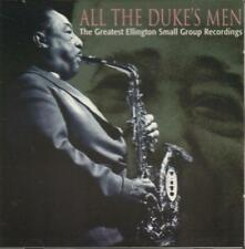 Various Jazz(CD Album)All The Dukes Men Ellington Small Group-Indigo-IG-New