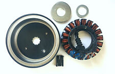 Harley Twin Cam 38amp 3 phase (Stator) & (Rotor) Enclosed magnet rotor 30017-01