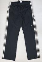 Men's Adidas Training Pants Size XL Black White