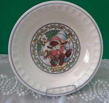"Watkins Country Kids Collectors Recipe Pie Plate 1989 Snow Magic 10"""
