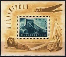 Hungary 1948. Bridge II. nice sheet MNH (**) Mi.:Bl.: 13. / 120 EUR