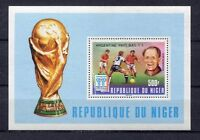 S5419) Niger 1978 MNH W.C.Football - C.M.Football S/S Ovptd Wnners