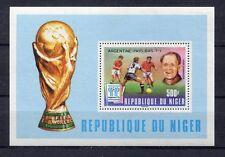 s5419) NIGER 1978 MNH** W.C. Football - C.M. Calcio S/S.-OVPTD WNNERS