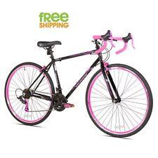 Women Road Bike 700c 21 speed Hybrid Comfort Sport  Bicycle Shimano Black New!