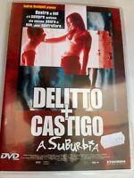 DVD DELITTO + CASTIGO A SUBURBIA