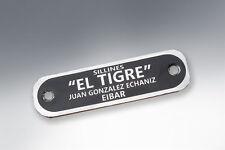 Lambretta Seat Badge El Tigre Eibar