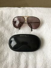 Vintage Porsche Design By Carrera Large Aviator Sunglasses W/ Prescription Lense