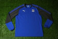 TRANMERE ROVERS 2017/2018 FOOTBALL SWEATSHIRT SWEATER TRAINING PUMA ORIGINAL