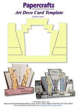 Robert Addams - Art Deco Card Template - Mylar - Robert Addams