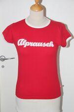 Original Tee shirt ALPRAUSCH  rouge T : M neuf