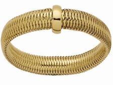 Bracelet en or jaune 18 carats et acier