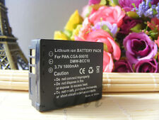 REPLACEMENT For Panasonic CGA-S007E Battery Lumix CGA-S007A Battery 1000mAh