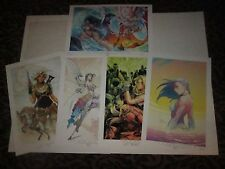 2017 SDCC ASPEN DAILY PRINT SET - ALL 5 DAYS & ALL NUMBERED 25/25 - 13x19