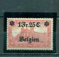 Belgien, auf Darstellungen des Kaiserreiches Nr. 8 Falz *