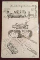 AMERICA # 5 PAGE 6 ORIGINAL ART VILLALOBOS KATE BISHOP HAWKEYE / AMERICA CHAVEZ