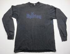HURLEY International Black Long Sleeve Shirt Front & Back Graphic Adult Size M