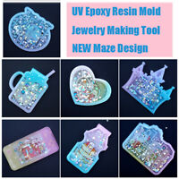 Silicon Mould UV Epoxy Schimmel aus Resin Werkzeuge zur Herstellung von Schmuck