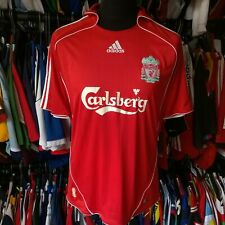 LIVERPOOL 2006 HOME FOOTBALL SHIRT ADIDAS JERSEY SIZE ADULT M