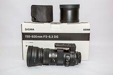 Sigma SPORT Canon EF 150-600mm F/5-6.3 DG Lens.