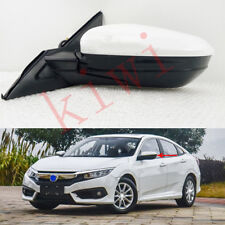 Left side 7 wires Rear view mirror W/Turn Signal light for Honda Civic 2016-2017