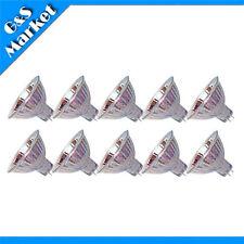 10pcs MR16 Tubes 12V 35W 35watts Halogen Light Bulb Lamp Studio Lighting Bulbs