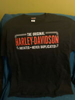Harley Davidson Fayetteville North Carolina Front & Back Graphic T-Shirt XL