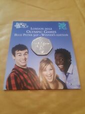 Royal Mint London 2012 Olympic Games 50p Blue Peter Winner's Edition 2009 issue