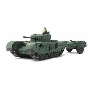 Tamiya 1/48 British Tank Churchill Mk.VII Plastic model kit from Japan