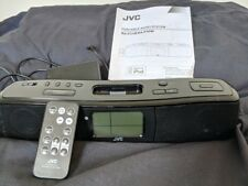 JVC iPhone4 SPEAKER DOCK AND RADIO - PORTABLE AUDIO SYSTEM RA-P31B / RA-P30W