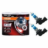 2 AMPOULES HB4 OSRAM NIGHT BREAKER UNLIMITED 51W 12V PHARES ECLAIRAGE +110%