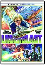 Laserblast Dvd Horror Sci-Fi Fantasy Alien Weapon
