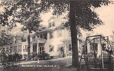 1946 Rainbow's End Valatie NY post card Columbia County