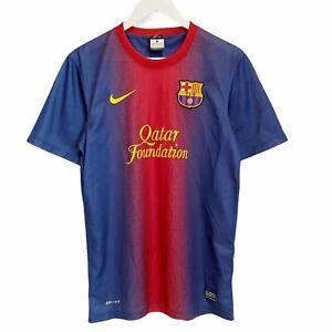 Barcelona Nike 2012/2013 Football Soccer Jersey Shirt Mens Small
