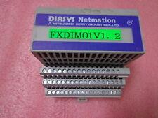 DIASYS Netmation I/O MODULE TYP:FXDIM01(DIGITAL INPUT 16CH) MITSUBISHI & allen
