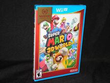 WII U GAME SUPER MARIO 3D WORLD NINTENDO SELECTS WIIU BRAND NEW AND SEALED