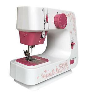 Electric Sewing Machine Kit Home Overlock Sewing Machine Desktop LED 12 Stitches