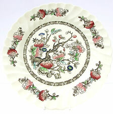 Vintage Myott Fine Staffordshire Ware Indian Tree Dinner Plate