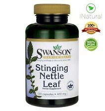 NATURAL NETTLE ROOT Leaf Extract 400mg - 120 Capsules | BUY 2 GET 3RD FREE!