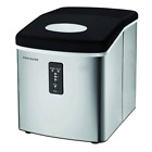 Frigidaire EFIC103 Ice Maker Machine Heavy Duty 26 lbs of ice Stainless Steel photo